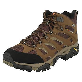 Mens Merrell Gore-Tex Walking Boots Moab Mid J87701/J65263