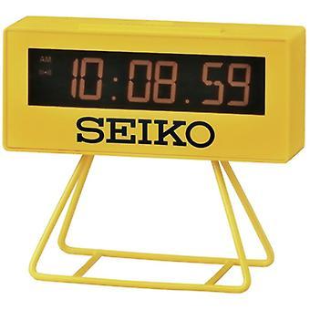 Seiko Countdown Style Sports Timing Clock - Yellow (Model No. QHL062Y)