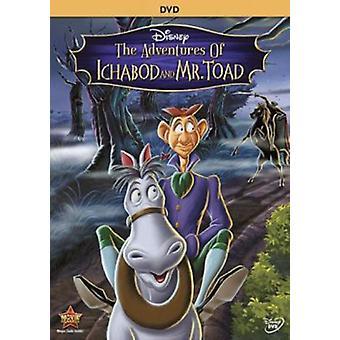 Aventures d'importation USA Ichabod & Monsieur crapaud [DVD]