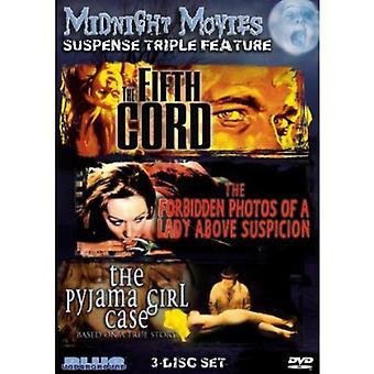 Midnight Movies - Midnight Movies: Vol. 13-Suspense Triple Feature [DVD] USA import