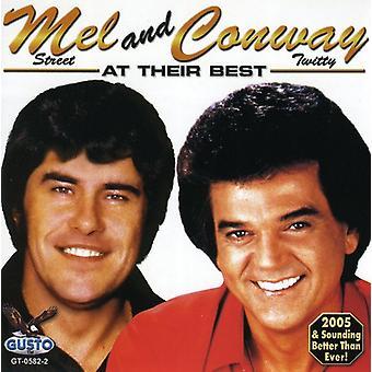 George/Mel/Conway - på deras bästa [CD] USA import