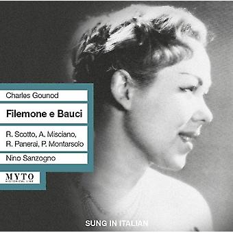 Gounod / Misciano / Scotto / Iroc / Sanzongo - Flemone E Bauci [CD] USA import