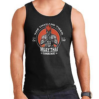 The Thailand Tiger Adon Street Fighter Men's Vest