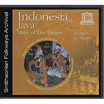 Various Artist - Indonesia: Java-Music of the Theatre [CD] USA import