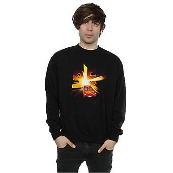 Disney menns biler Lightning McQueen Burst Sweatshirt