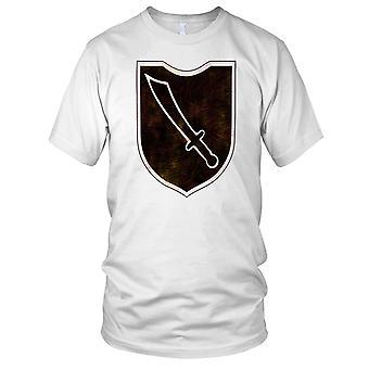 13 Waffen SS Mountain Division Grunge effekt barn T Shirt