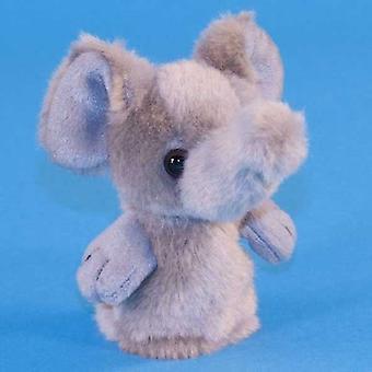 Dowman Elephant Finger marionett mjukisdjur