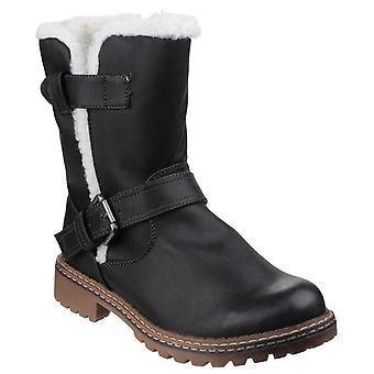 Divaz Womens Nardo Pull On Boot Black