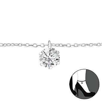 Rotund-925 Sterling Silver anklets-W27635X