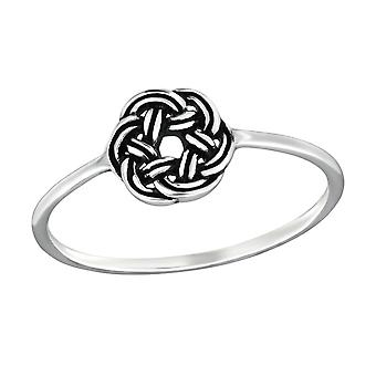 Celtic - 925 Sterling Silver Plain Rings - W32288x