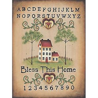 Bless This Home Poster Print by Lisa Kennedy (12 x 16)