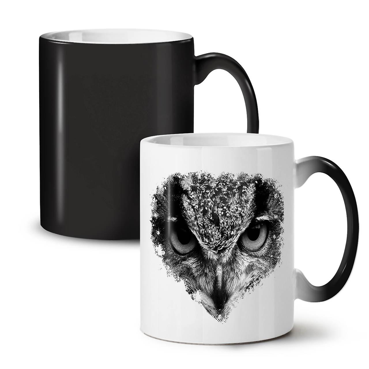 Owl Look Eye Cute Animal New Black Colour Changing Tea