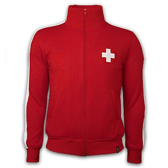 Switzerland 1960's Retro Jacket polyester / cotton