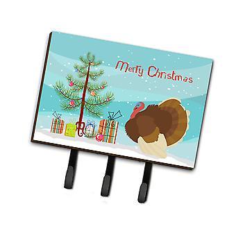 French Turkey Dindon Christmas Leash or Key Holder