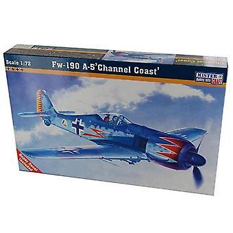 Costa del canal A-5 Focke-Wulf Fw-190 Mistercraft 1: 72