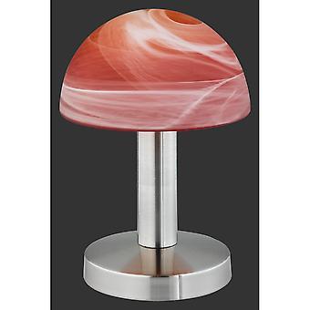 Trio d'éclairage Fynn jeunes vivant Nickel Matt métal lampe de Table