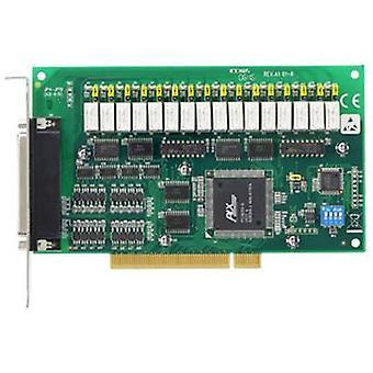 Advantech PCI-1762 I/O card Relays, DI No. of inputs: 16 x No. of outputs: 16 x