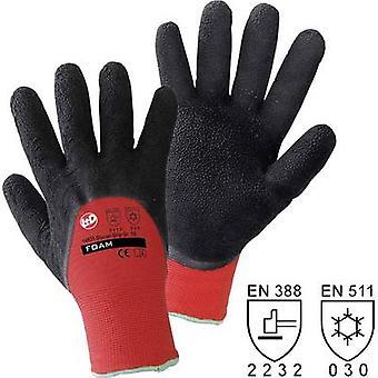 L+D作業性の氷河グリップ 14933 ポリエステル保護手袋サイズ (手袋): 8, M EN 388 , EN 511 CAT II 1 ペア