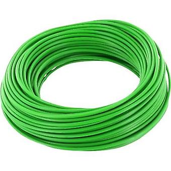 BELI-BECO D 105/10-GN Jumper wire 1 x 0.20 mm² Green 10 m