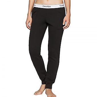 Calvin Klein Women Modern Cotton Jogger, Black, Large