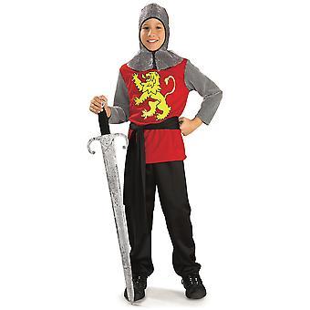 Middeleeuwse ridder Lord Renaissance Crusader boek Week aankleden jongens kostuum