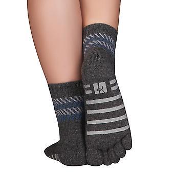 Knitido ABS maison chaussettes domicile Cachemire Merino, orteil sans soudure chaussettes sans élastique