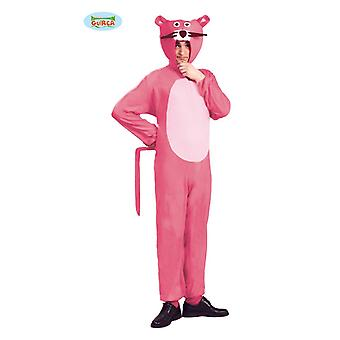 Panthère Rose costume costume de chat costume animal adulte costume unisexe rose