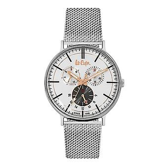 Lee Cooper Men's Watch Silver Milanese Maille Bracelet 7919