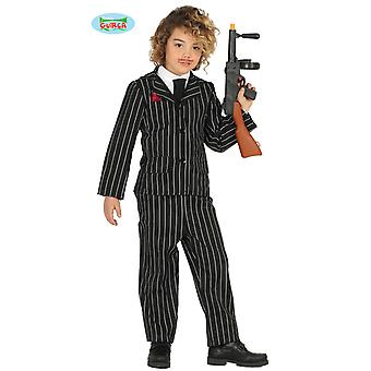 Guirca gangster mafia suit for boys