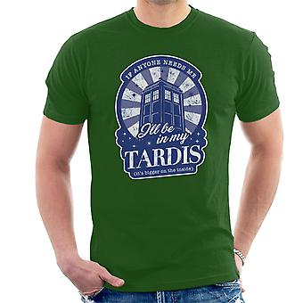 Doctor Who huonosti on Tardis t-paidat