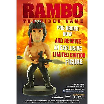 Rambo Limited Edition Rocket Figure - from Rambo The Video Game