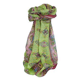 Klassische Paisley langer Schal Maulbeere Golla Hibiskus von Pashmina & Seide Seide