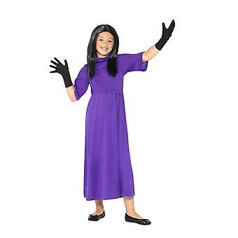 ロアルド ・ ダールのデラックス魔女コスチューム ライセンス派手なドレス、大きな年齢 10-12