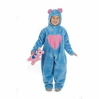 הדובי שמח לילדים כחולים תלבושות מזל ילד לשאת תלבושות