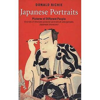 Japansk portrætter - billeder af forskellige mennesker af Donald Richie - 9