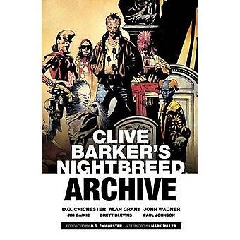 Clive Barker's Nightbreed Arkiv - Vol. 1 av Clive Barker - D. G. Chi