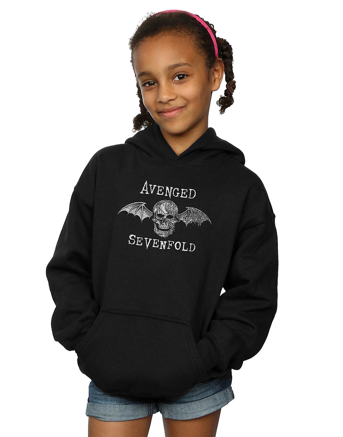 Avenged Sevenfold Girls Cyborg Deathbat Hoodie
