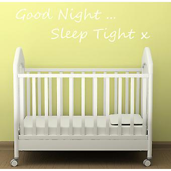 Good Night SleepTight Wall Sticker