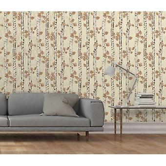 Elegante Sparkle Birchwood room Wallpaper wandversiering 0.52 m x 10.05 m