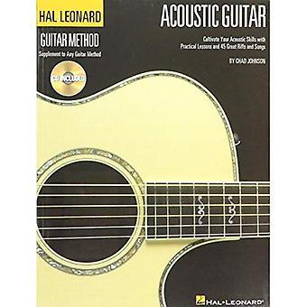 De Hal Leonard akoestische gitaar methode: Een Complete gids met stapsgewijze lessen en 45 geweldige akoestische nummers