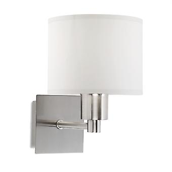 Lyon Satin Nickel Wall Light - LED-C4 05-1567-81-82