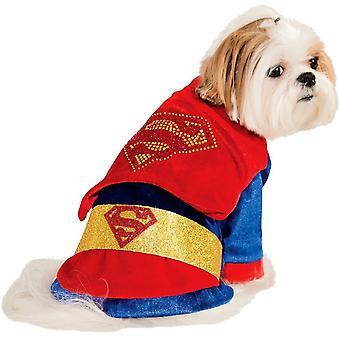 Huisdier Superman kostuum