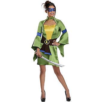 Leonardo Tmnt kvinnliga Adult kostym