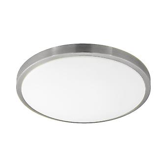 Eglo - Competa 1 LED Satin Nickel rotonda soffitto luce EG96034