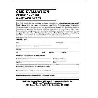 Integrative Medicine Cme Study Guide by Kligler & Benjamin