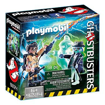 Playmobil Ghostbusters con fantasma