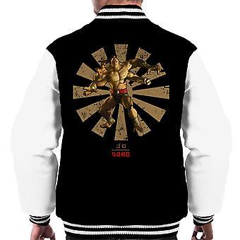 Varsity Jacket Goro rétro japonais Mortal Kombat masculine