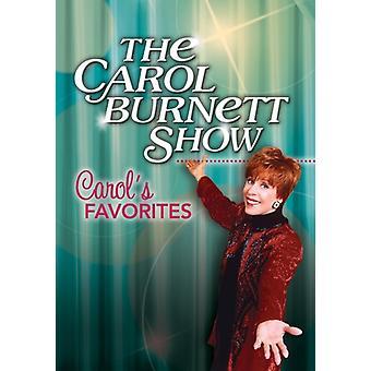 Carol Burnett Show: Carol's Favorites [DVD] USA import