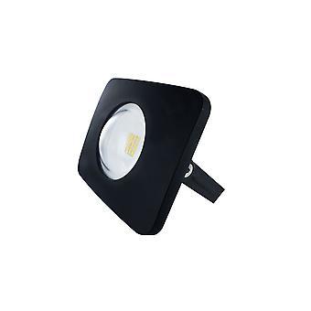 Integral - LED Floodlight 20W 4000K 2000lm Matt Black IP65 - ILFLB010