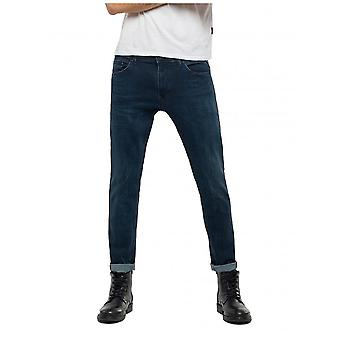 Replay Jeans Jondrill skinny jeans-donkerblauw denim